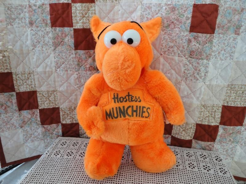 Hostess Munchies Plush Toys They Came In Orange Yellow And Red And