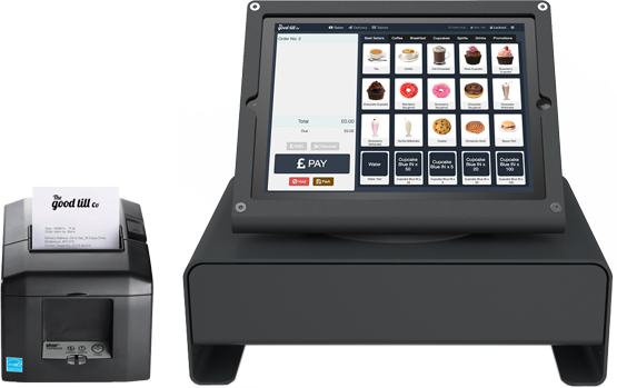 iPad and Receipt Printer Pos, System, Business
