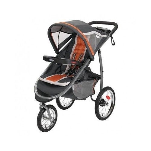 Baby Jogging Stroller Outdoor Running Gear Front Wheel Travel
