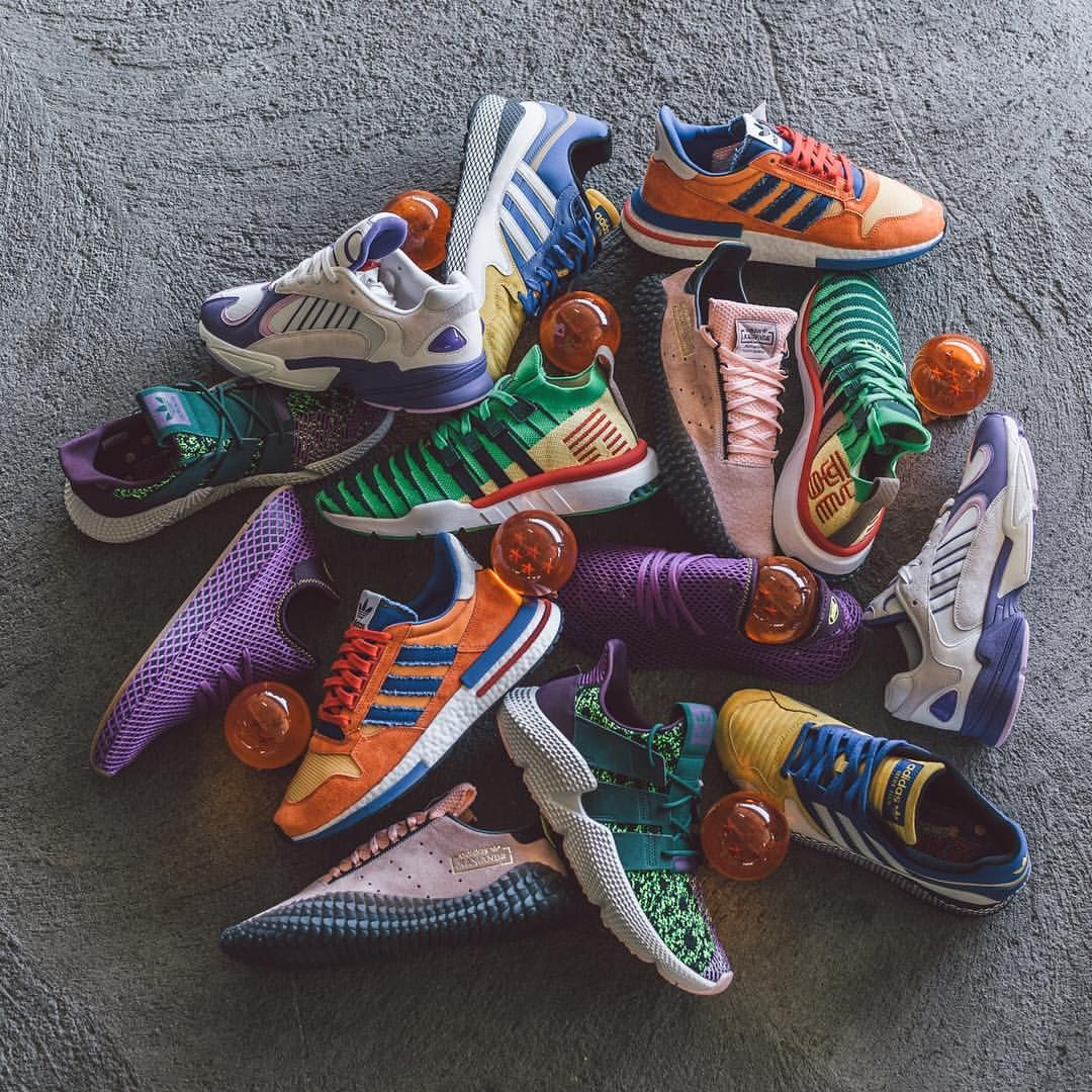 Dragon Ball Z' x adidas Kamanda