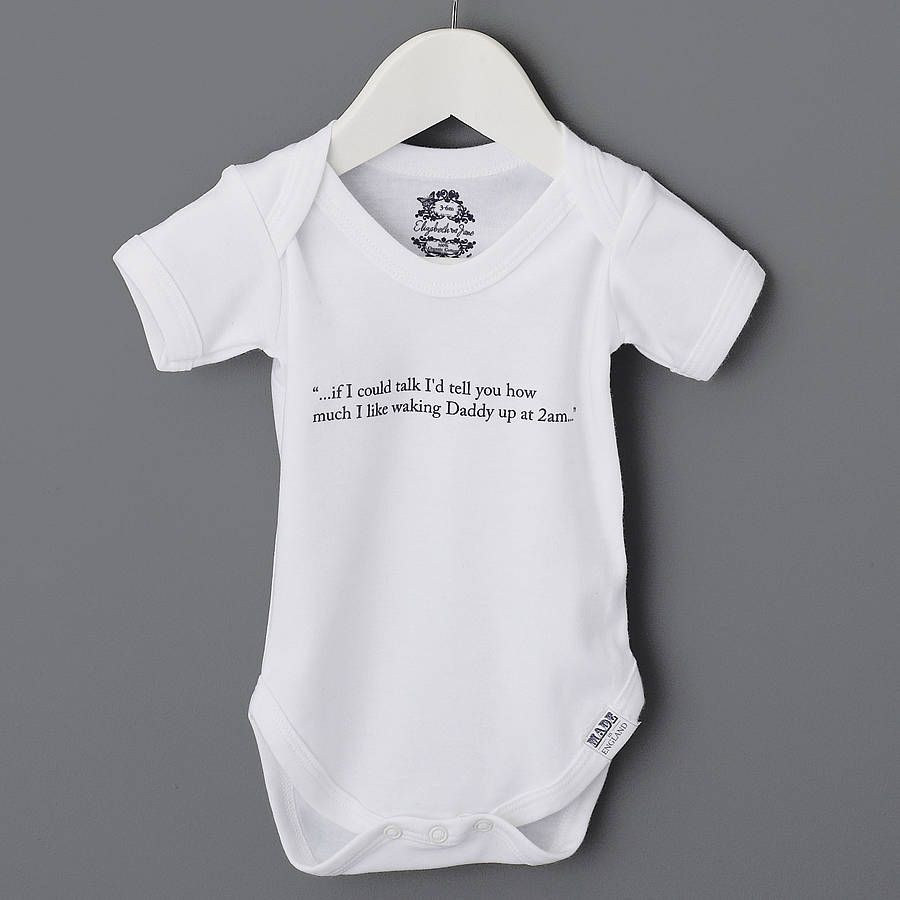 178e9e7206a9 baby thoughts organic babygrow by elizabeth jane ...