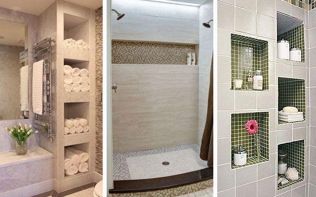 | Ideas para almacenaje en baños - Decofilia ...