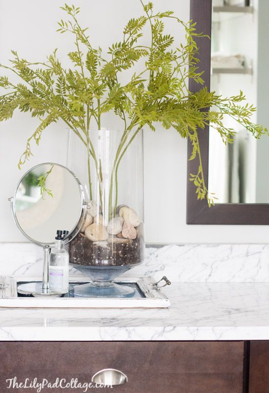 How to make faux plants look real | The Lilypad Cottage