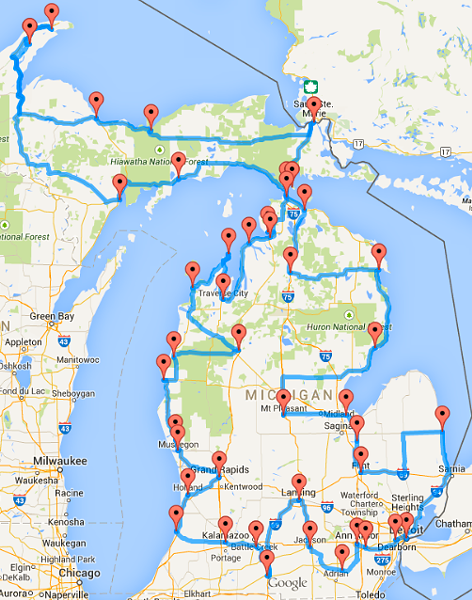 You may have seen a map floating around facebook or other social you may have seen a map floating around facebook or other social sharing sites recently depicting an optimal us road trip across every state in gumiabroncs Image collections