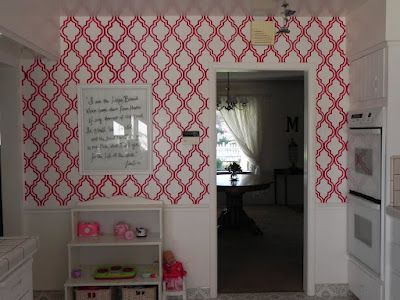 Paint your own wallpaper. Includes link to tutorial. This cost me less than $10 to do! | On the ...