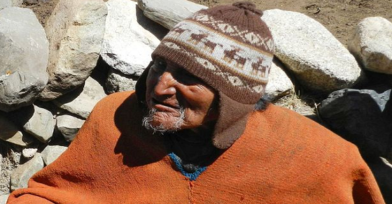 The Oldest Person in the World Only Eats Organic bolivian-man-123yr-old