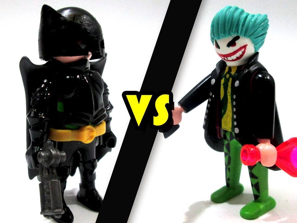 Batman vs guas n custom clicks playmobil pinterest - Batman playmobil ...