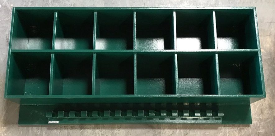 12 Helmet Rack With Attached 15 Bat Holder Perfect For The Dugout Or Garage Great Storage Unit Baseball Dugout Softball Helmet Softball Dugout