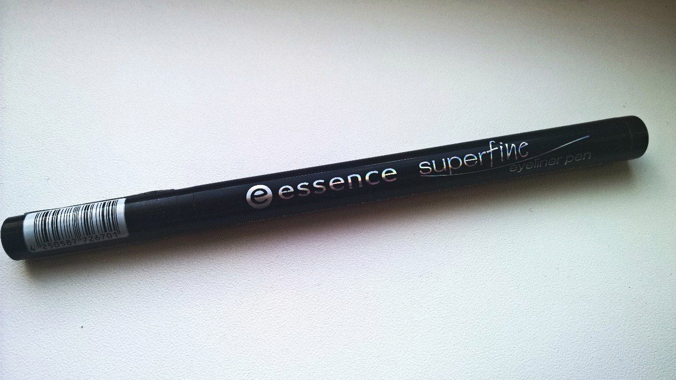 ESSENCE SUPERFINE EYELINER PEN REVIEW