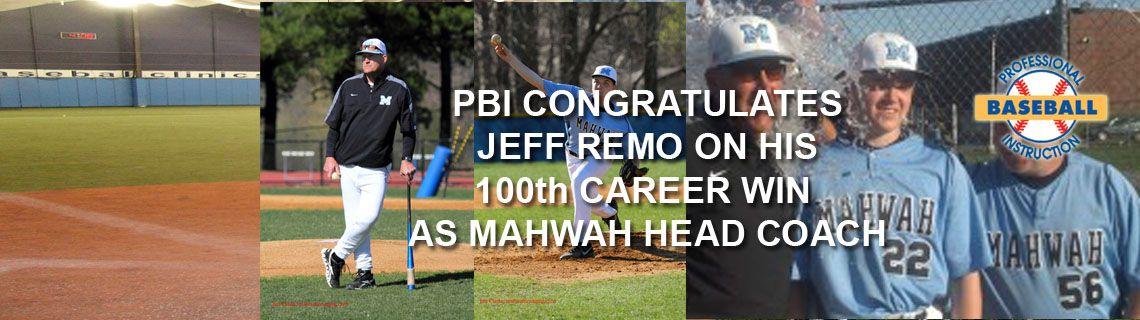 Pbi Congratulates Coach Jeff Remo Baseball Training Professional Baseball Baseball Camp
