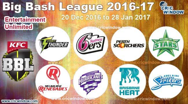 Big Bash League 2016-17 Tickets ========================== http://www.cricwindow.com/big-bash-league-2016-2017/online-tickets-booking.html