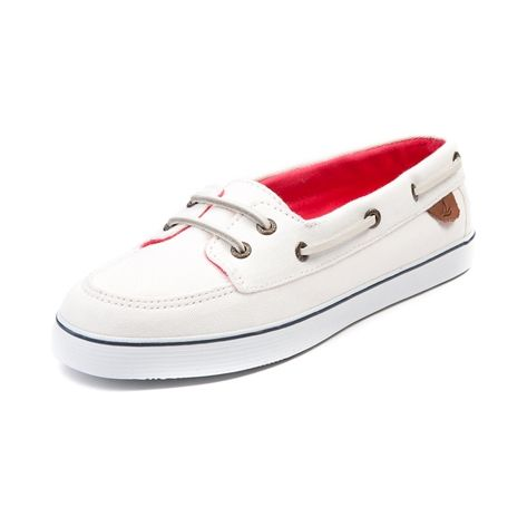 12d89078d38e Shop for Womens Sperry Top-Sider Malibu Boat Shoe in White at Shi by  Journeys. Shop today for the hottest brands in womens shoes at Journeys.com.