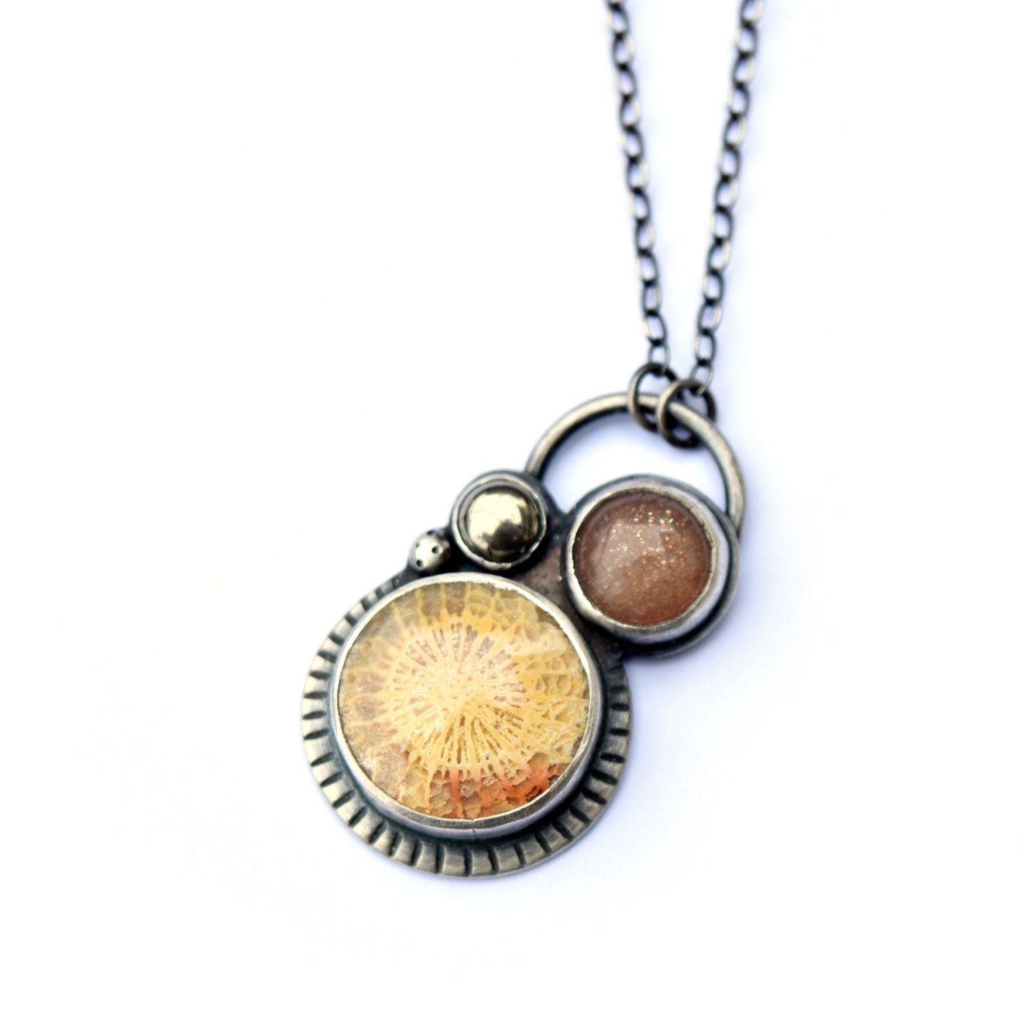 product clinic necklacevital brass necklace health sunstone