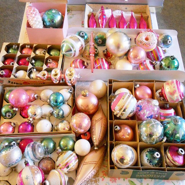 Candy Color Ornaments