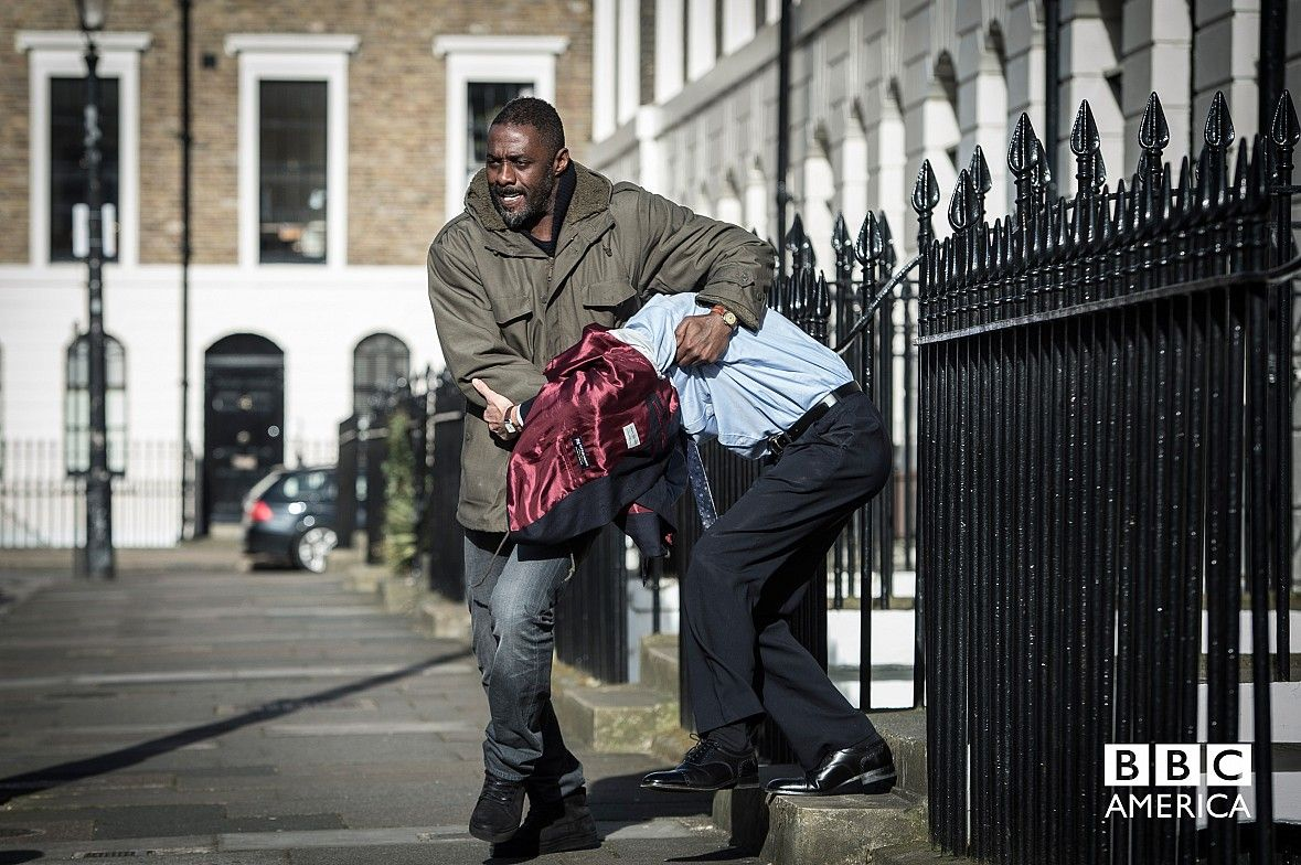 Luther Mini-Series First Look Image: Idris Elba Gets Back to Work