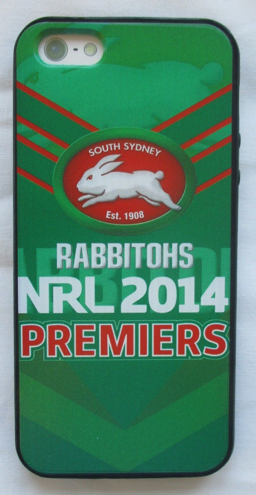 10 Aud South Sydney Rabbitohs 2014 Premiers Nrl Iphone 5 Soft Gel Phone Cover Case Ebay Lifestyle With Images Phone Case Cover Case Cover Phone Covers