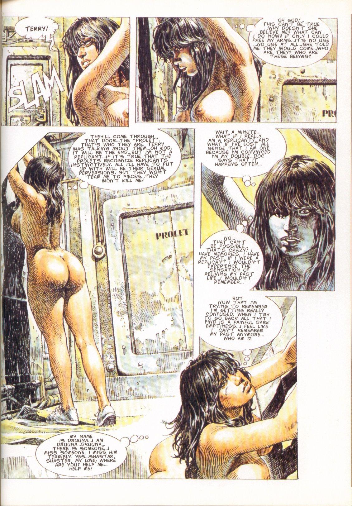 Heavy Metal cartoon porno