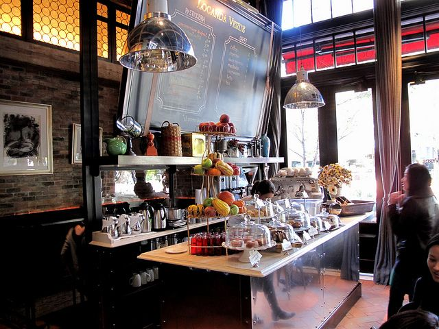 Coffee bar at Locanda Verde | NYC