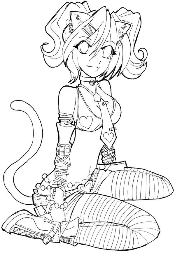 Lucy line by Namtia   on @deviantART