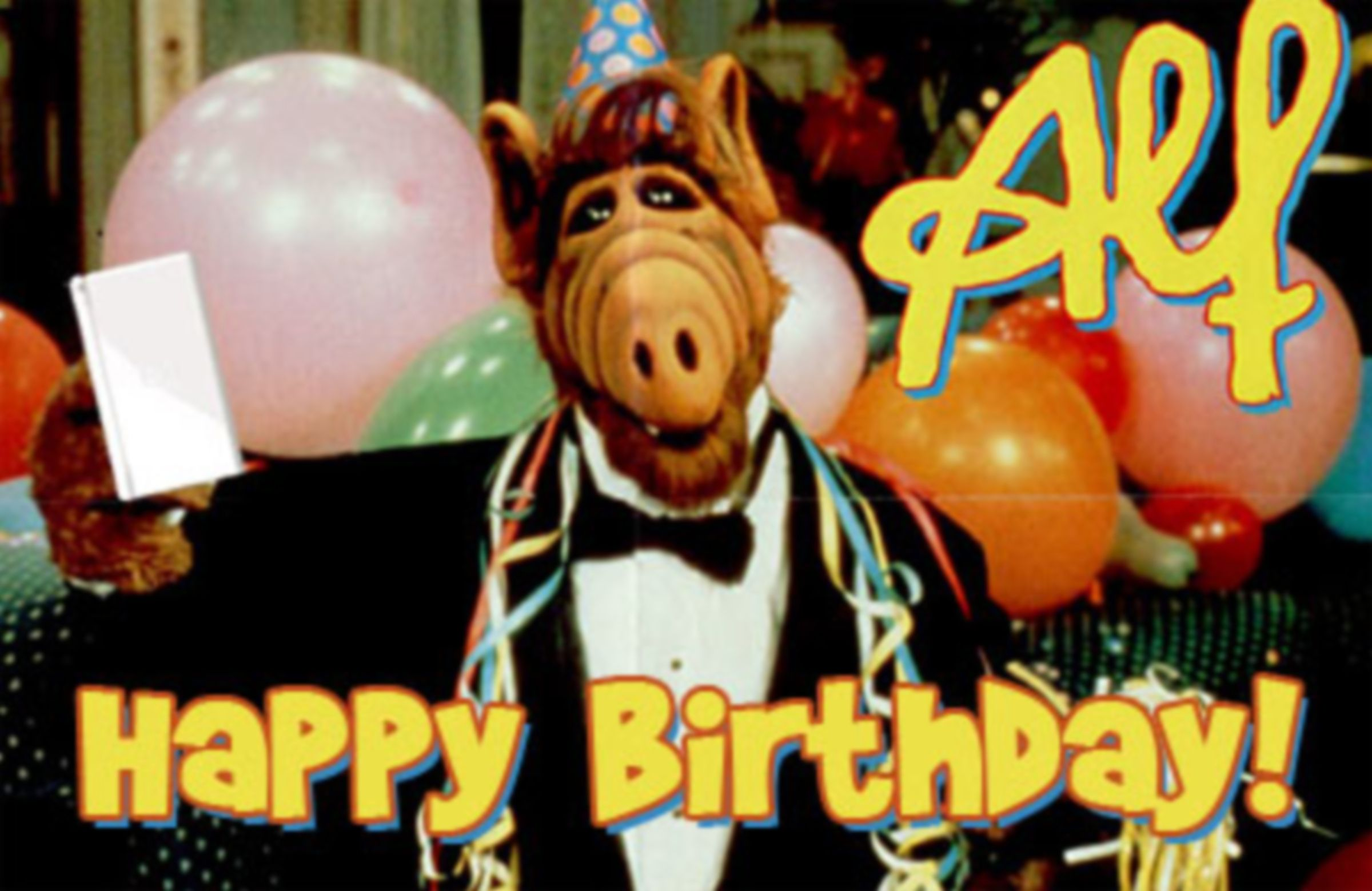 Alf Birthday Random Things Birthday Childhood Memories