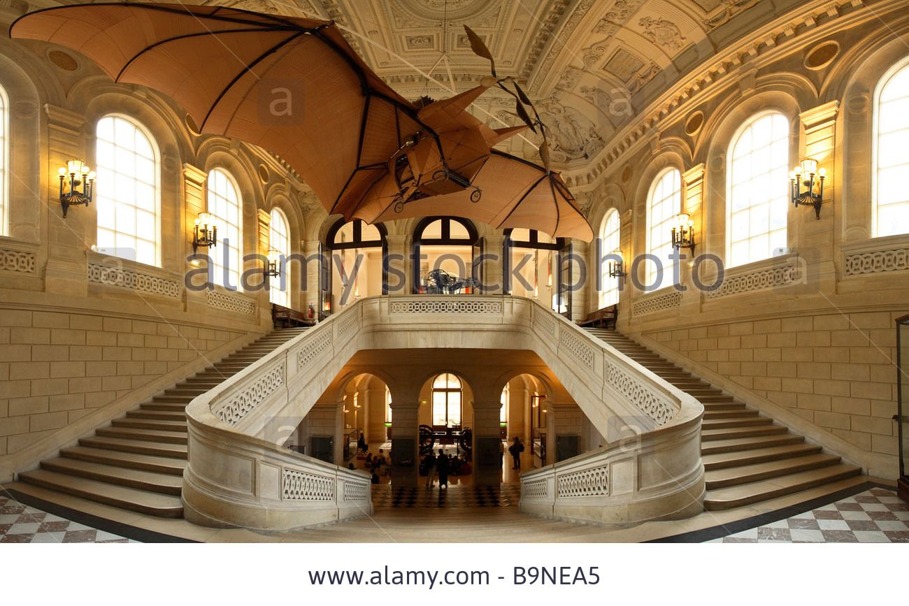 Clement Ader ' S Plane Aquilon In Arts Et Metiers Museum Paris Stock Photo, Picture And Royalty Free Image. Pic. 23214525