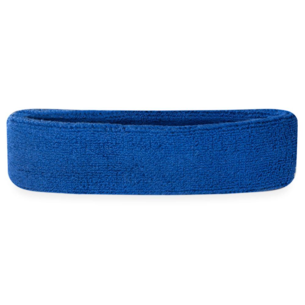 Multiple Colors Available Athletic Cotton Terry Cloth Head Sweatband for Sports Suddora Kids Headband