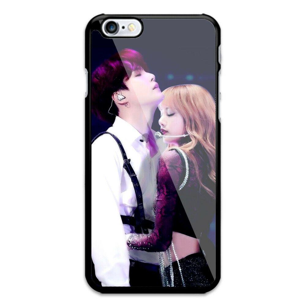 Lisa BLACKPINK X Suga BTS iPhone 7 8 + X XR XS MAX Hard