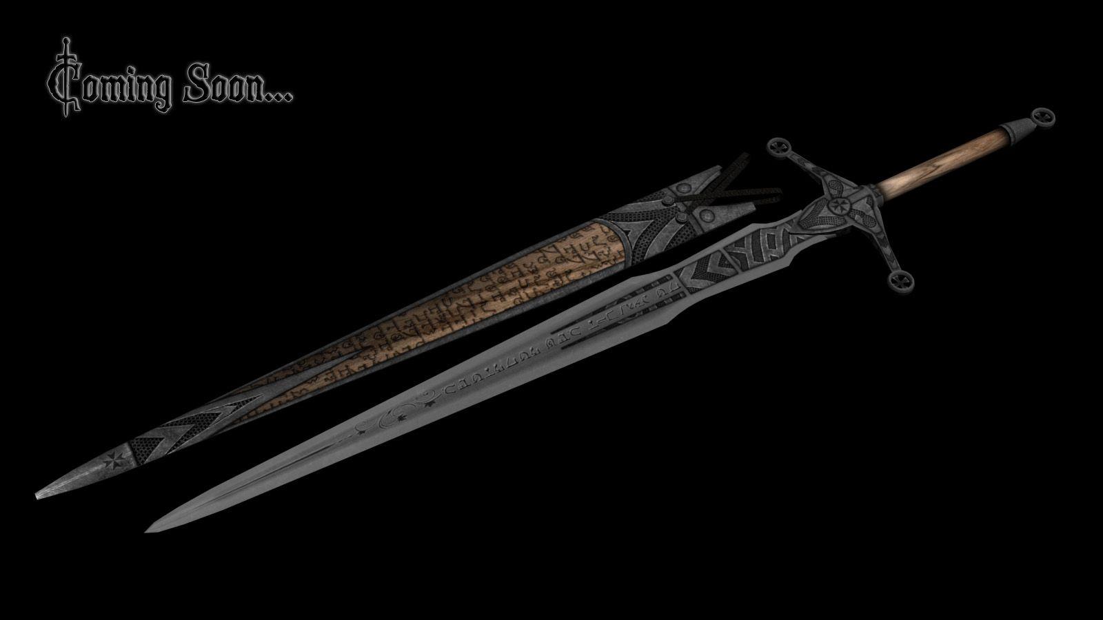 skyrim elven swords - ...