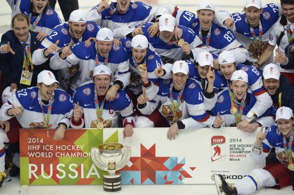 Russia Wins Gold At World Championships World Championship Hockey World Hockey