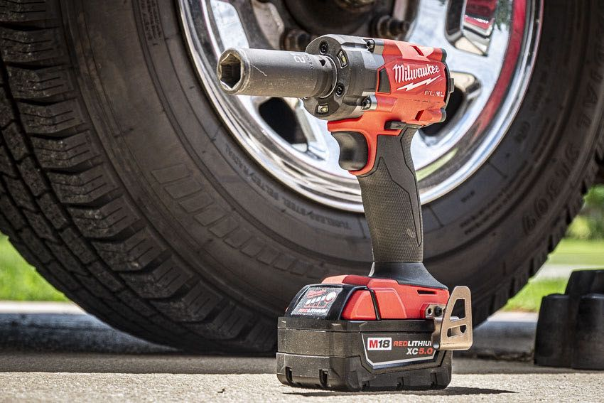 Milwaukee M18 Fuel Compact Impact Wrench Review Pro Tool