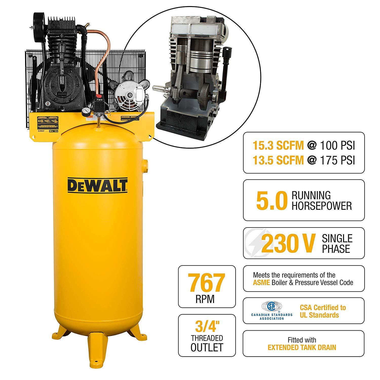 DeWalt 60 Gallon Two Stage Air Compressor Air compressor