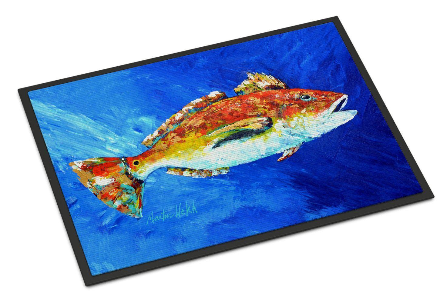 Fish Spin Doormat