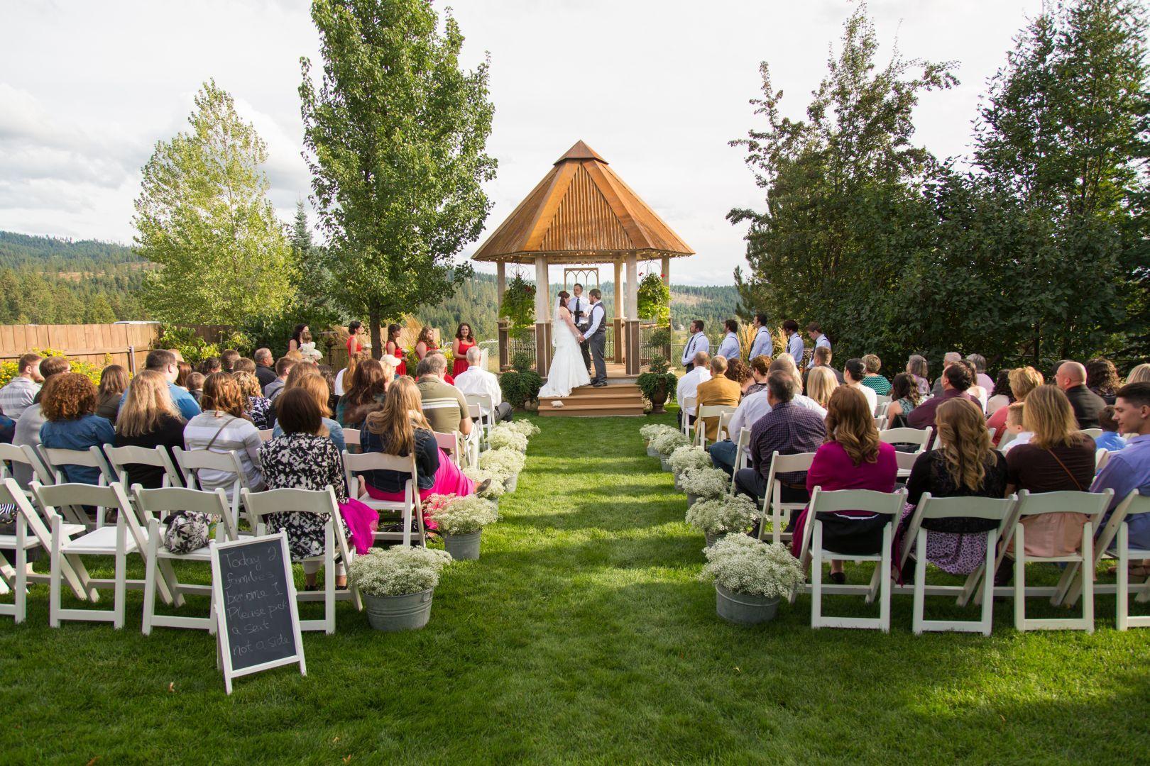 Quail run ranch wedding