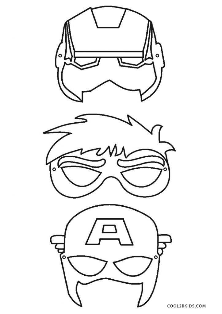 Free Printable Superhero Coloring Pages for Kids in 2020