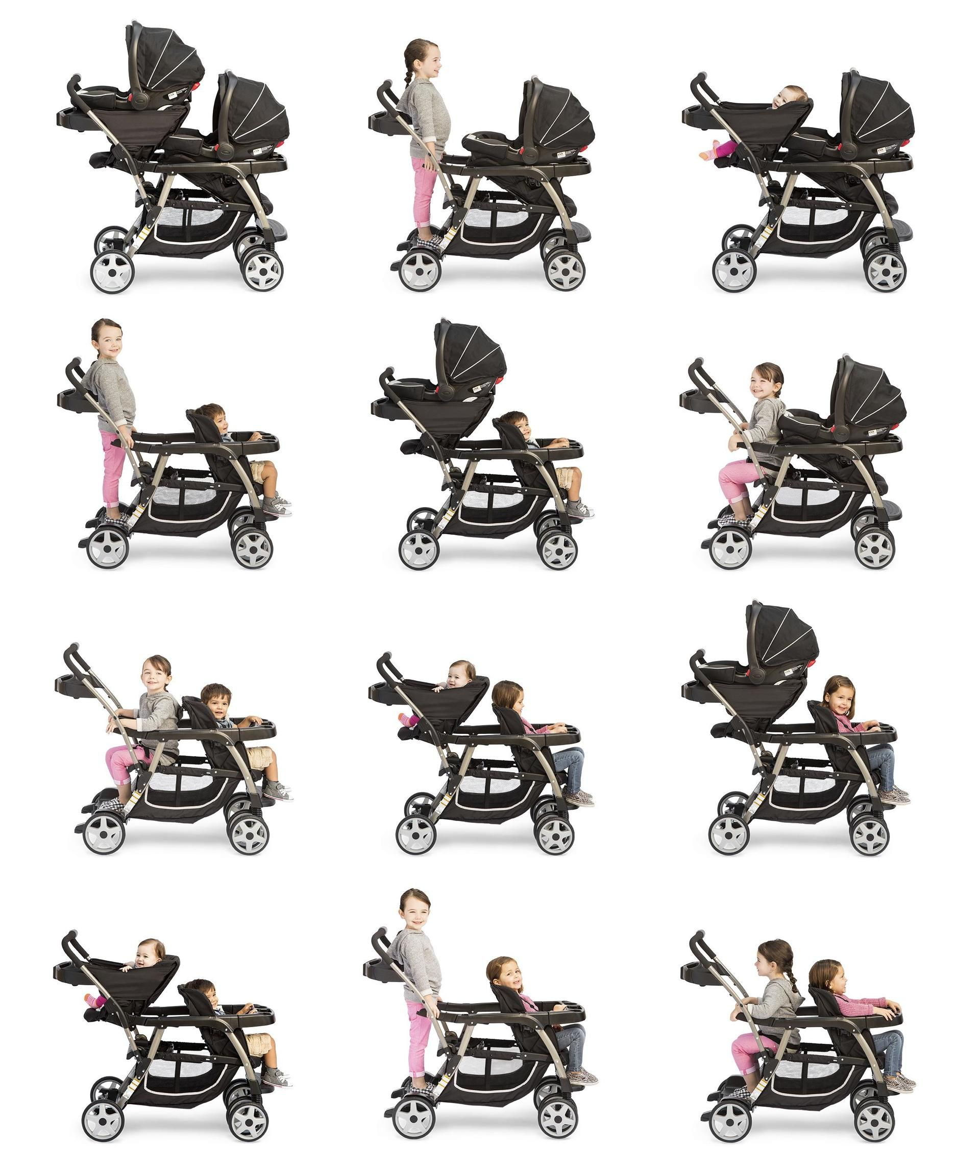 Graco Ready2Grow Double Stroller Walmart Canada in 2020