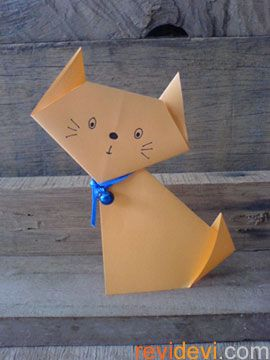 How to make Origami Cat | Easy Origami Cat Tutorial (2018) - YouTube | 360x270