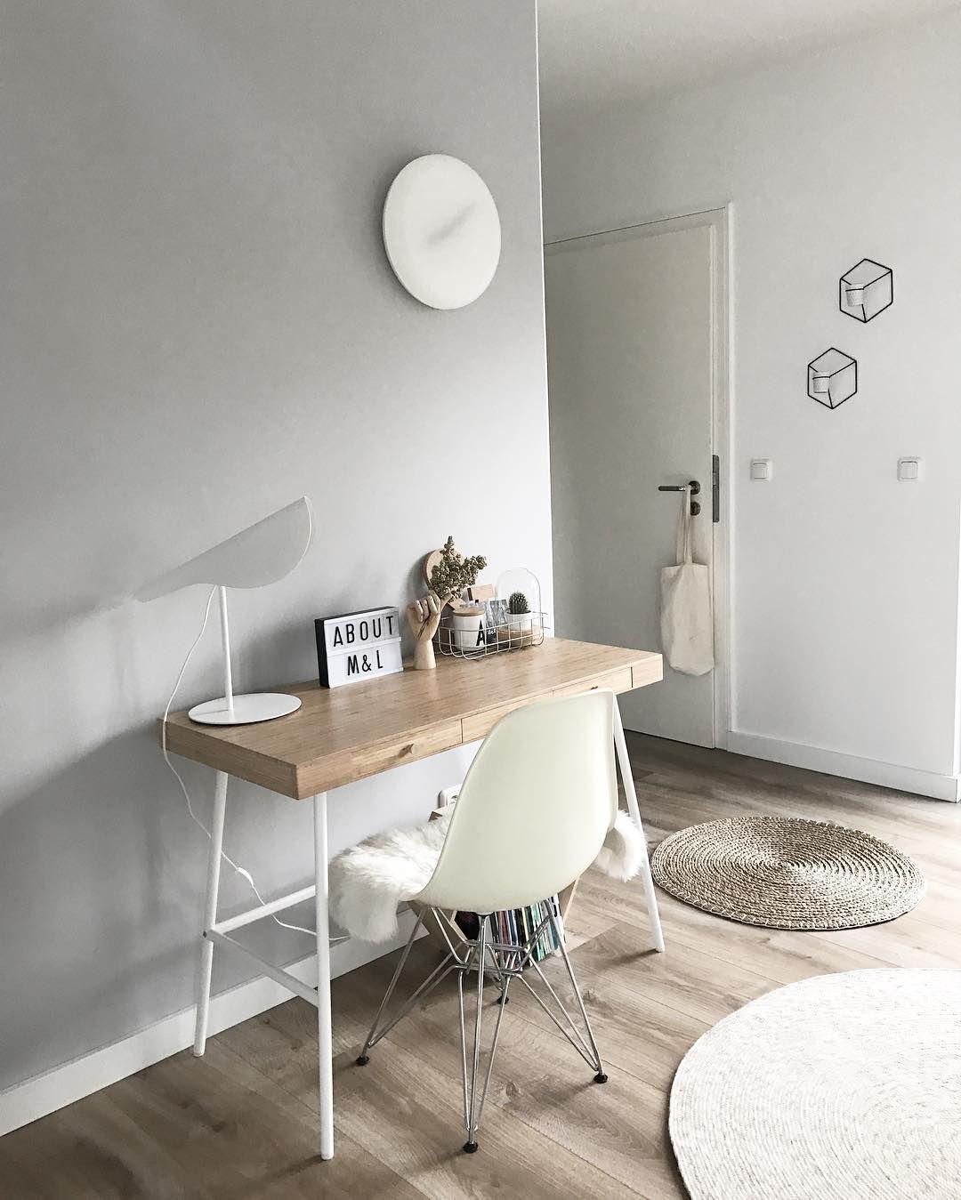 Ikea 'Lillåsen' desk lenijo Home office bedroom, Home