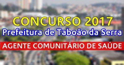 Apostila Taboao Da Serra 2017 Agente Comunitario De Saude