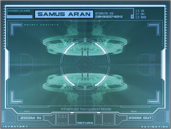 Samus Aran - Metroid Prime #HUD