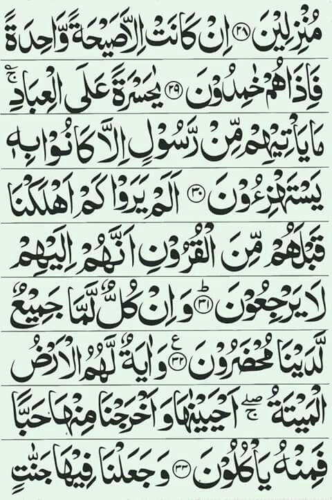 Qur An Surah Yasin Image 6 16 Quran Surah Islamic Information Quran
