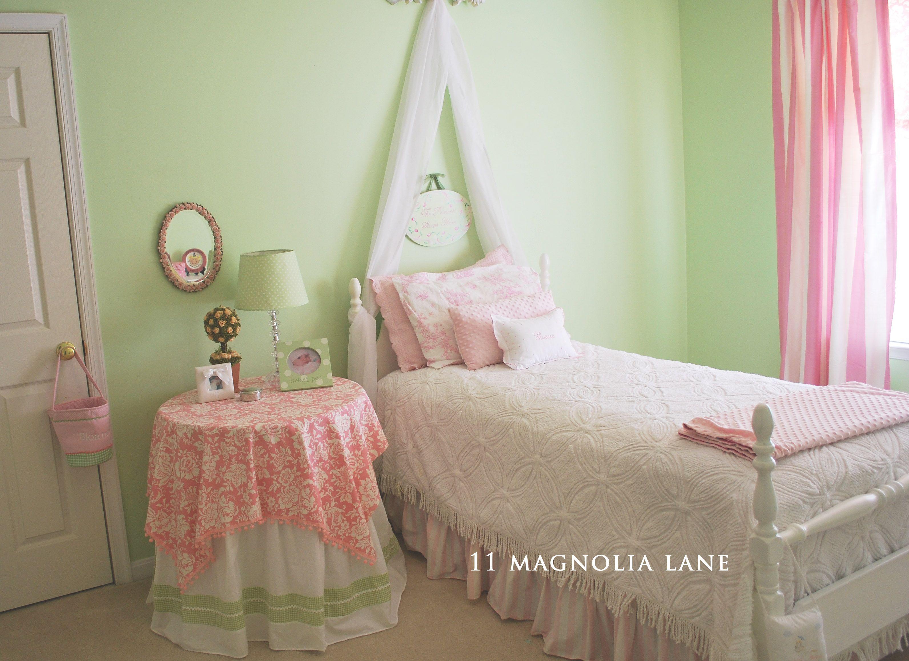 green girls bedroom > pierpointsprings
