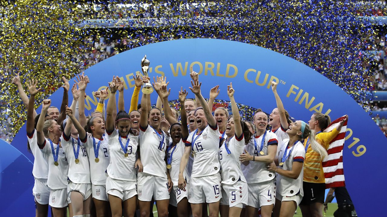 Us Women S Soccer Team Wins Fourth World Cup Defeating Netherlands Fourth World Uswnt World Cup