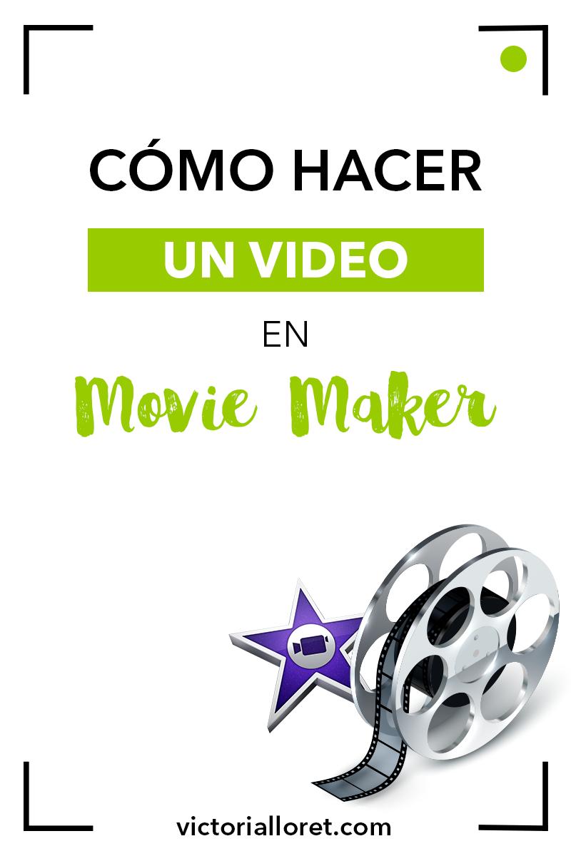Cómo Hacer Un Vídeo En Movie Maker Informatica Y Computacion Aprender Informatica Clase De Informática