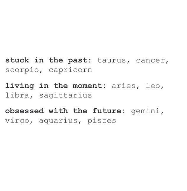 My Present Horoscope