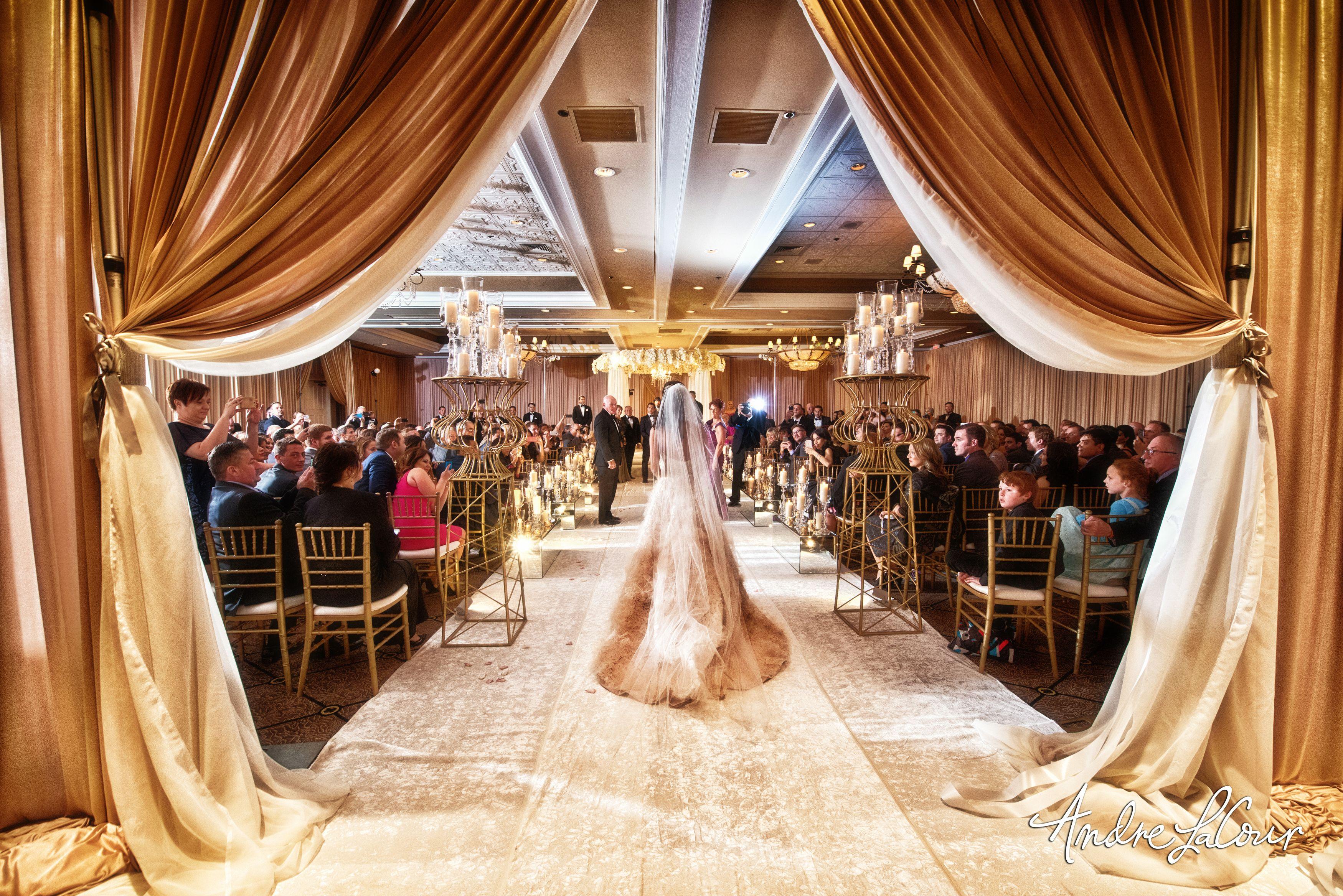 Luxury Wedding Decorations Floral Chicago Yanni Design Studio Chicago Wedding Venues Hotel Wedding Ceremony Decorations Hotel Wedding Ceremony