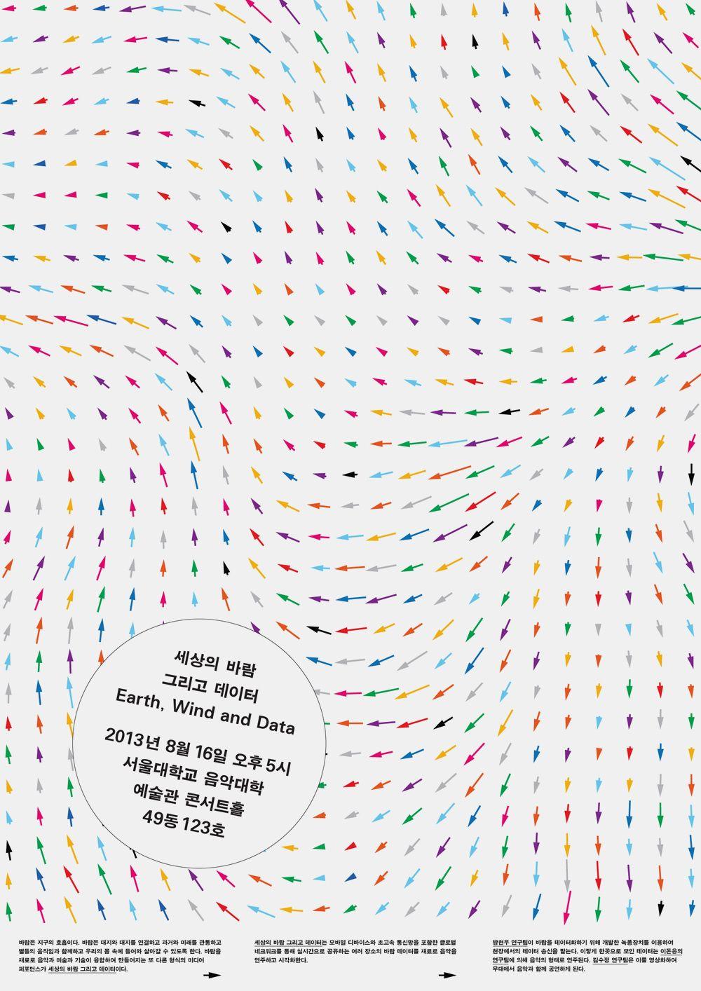Earth, Wind & Data: Posters - Minkee Bae