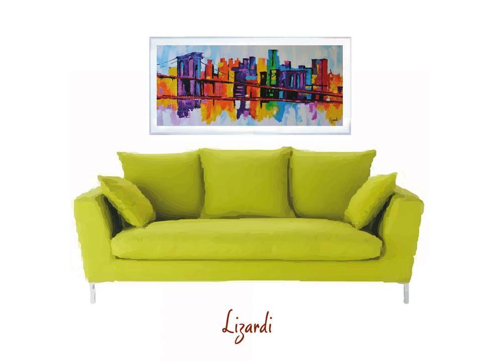 Cuadros al óleo: Buscas lograr algo tradicional El cuadro no debe ser mayor al ancho del mueble. Un principio general que debe mantenerse en mente es que el mueble (mesa, asiento, etc) debe ser un 25% mas largo que el cuadro.