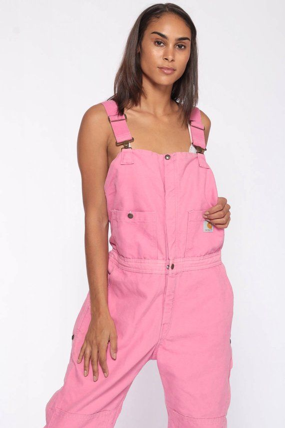 pink carhartt overalls insulated coveralls quilted on insulated overalls id=35354