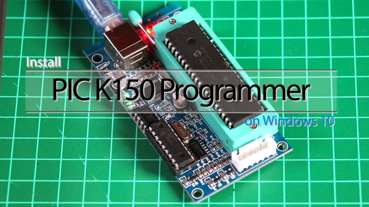 Install Pic K150 Programmer On Windows 10 Pinterest Alternate Switching Led Circuit Using Ic 555 Gadgetronicx Cnc