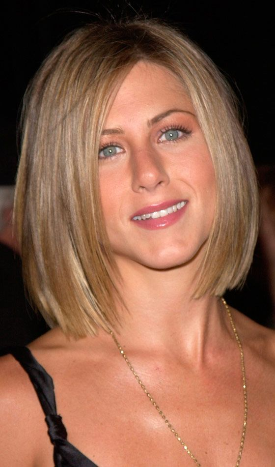 8 Famous Bob Hairstyles Of Jennifer Aniston Bob Hairstyle